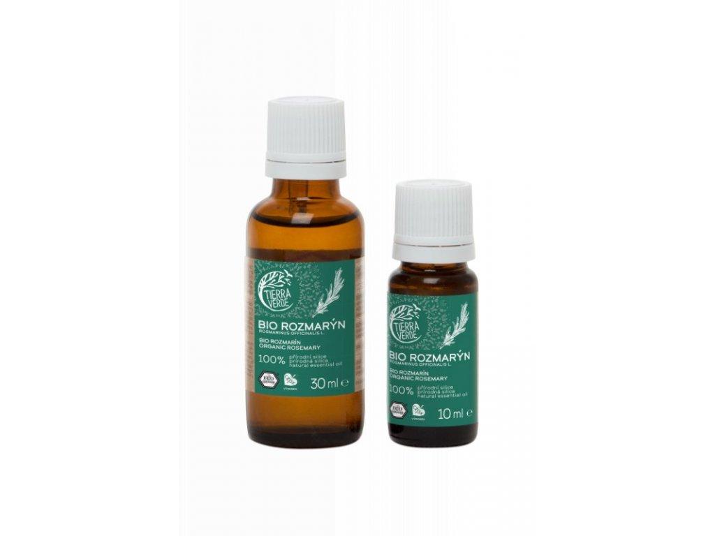 Tierra Verde Silice Rozmarýn BIO (10 ml) - životabudič