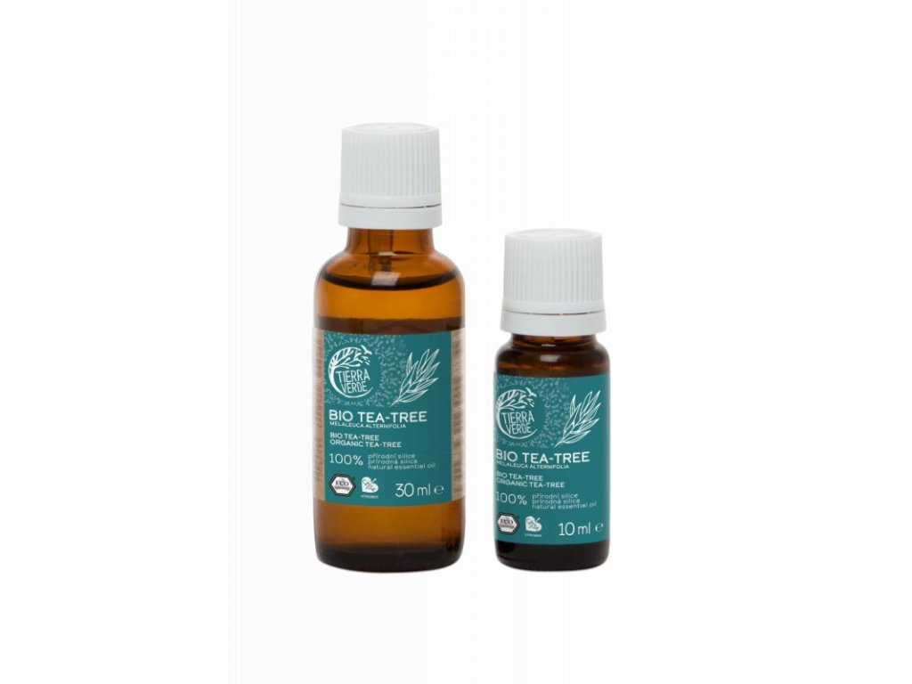 Tierra Verde Silice Tea tree BIO (30 ml) - antibakteriální pomocník