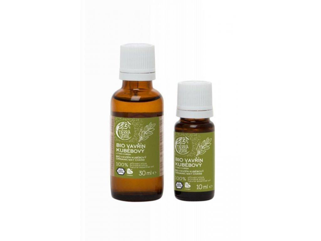 Tierra Verde Silice Vavřín Kubébový BIO (30 ml) - energizuje, čistí vzduch