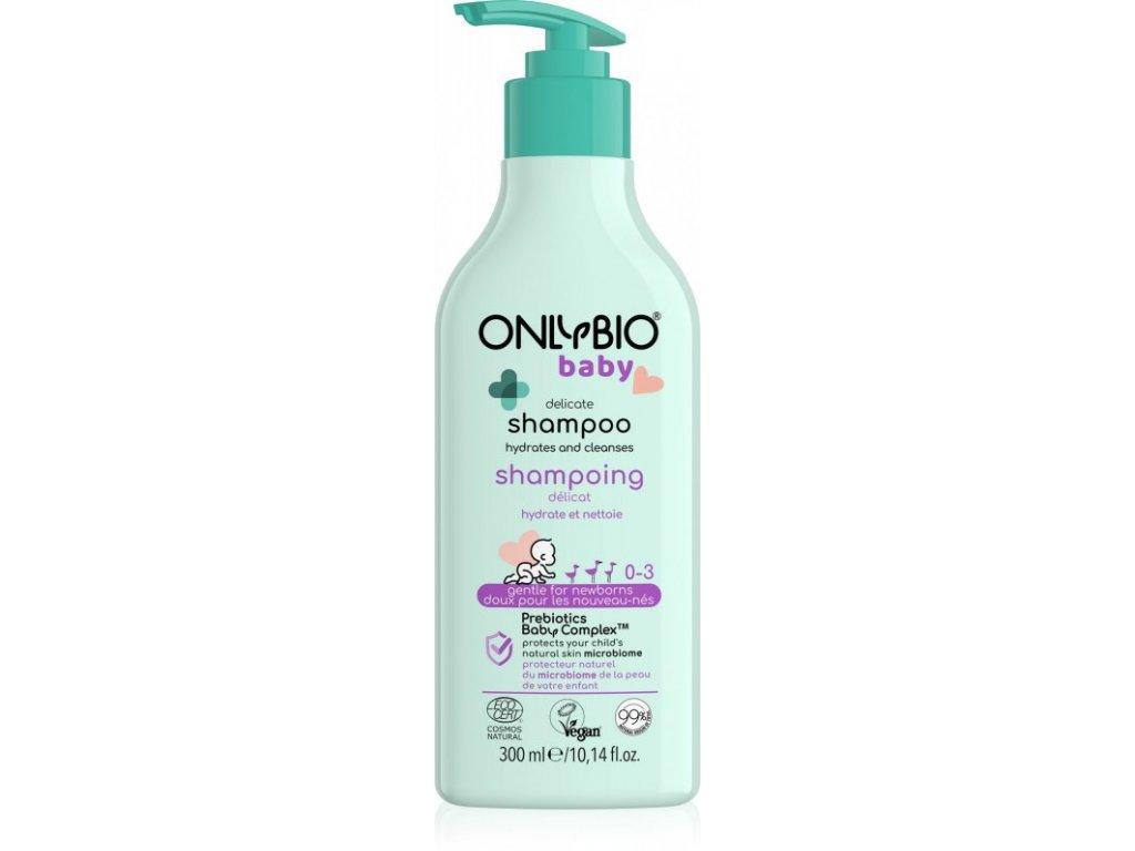 OnlyBio Jemný šampon pro miminka (300 ml) - vhodný hned od narození