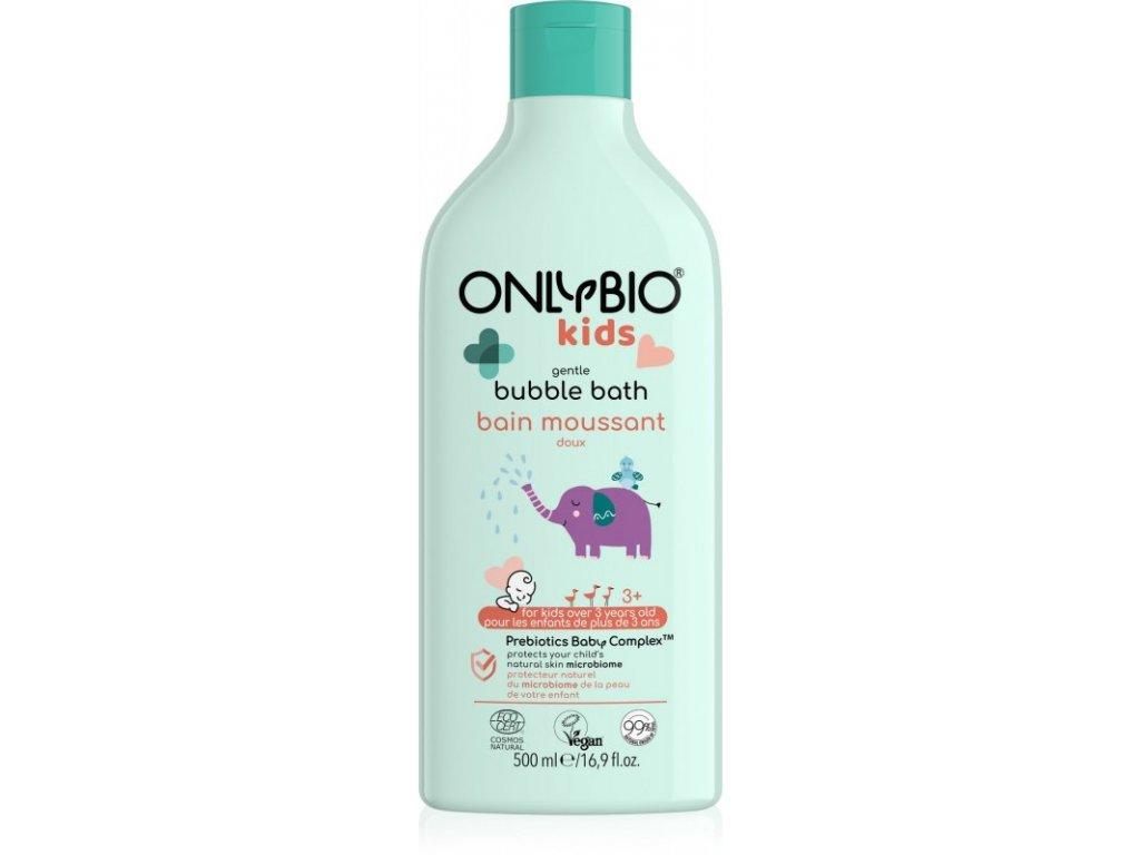 OnlyBio Jemná pěna do koupele pro děti od 3 let (500 ml)