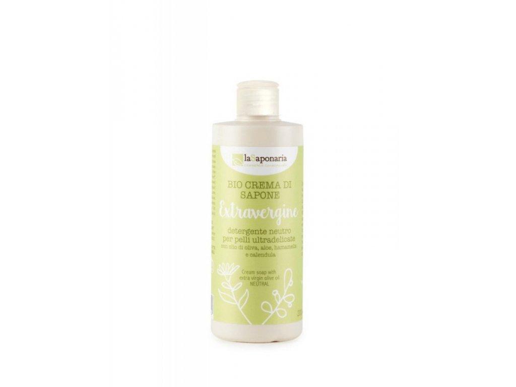 laSaponaria Sprchový gel s extra panenským olivovým olejem BIO (200 ml)