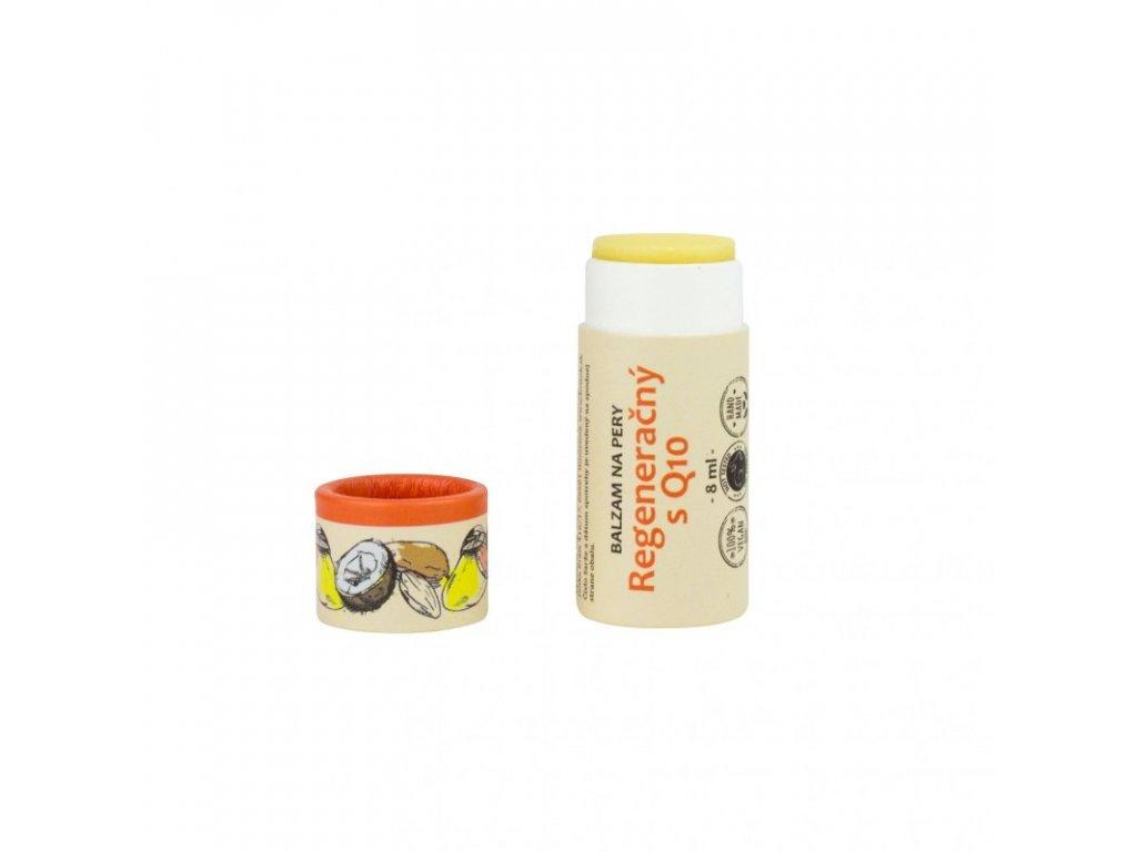 Kvitok Regenerační balzám na rty s Q10 (8 ml) - se švestkovým olejem
