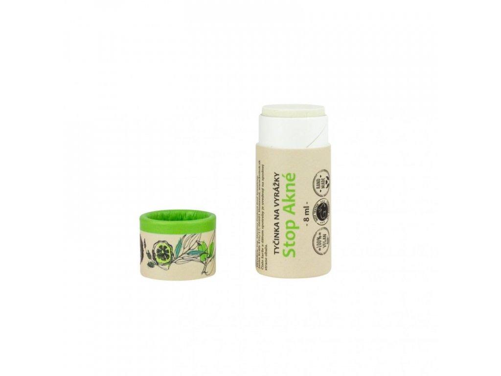 Kvitok SOS Zinková tyčinka na pupínky a opary (8 ml) - s oxidem zinečnatým