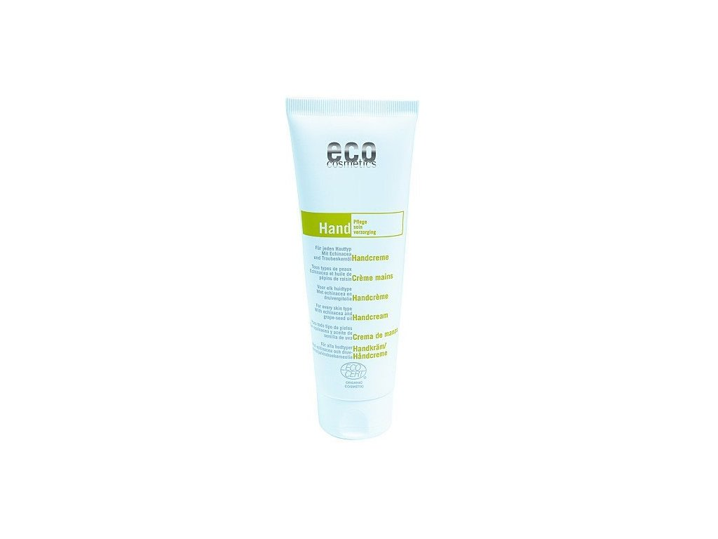 Eco Cosmetics Krém na ruce BIO (125 ml) - s echinaceou a hroznovým olejem