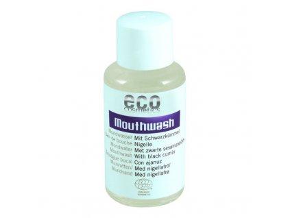 Eco Cosmetics Ústní voda s černuchou BIO (50 ml) - s výtažky ze šalvěje a echinacey