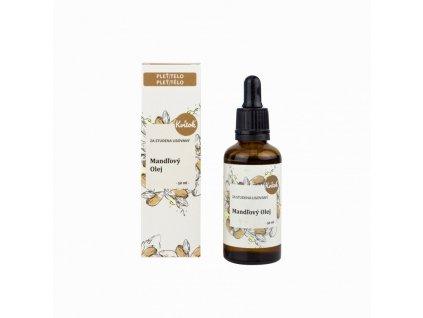 Kvitok Mandlový olej (50 ml) - za studena lisovaný