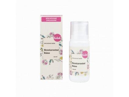 Kvitok Sprchový krém Bezstarostné ráno (100 ml) - s jemnou květinovou vůní