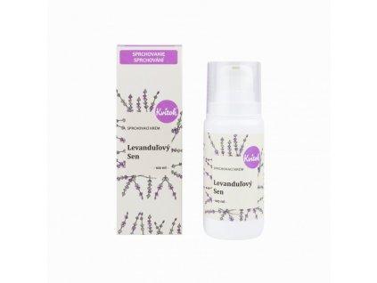 Kvitok Sprchový krém Levandulový sen (100 ml) - balzám pro vaše tělo i duši