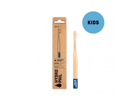 Hydrophil Bambusový kartáček pro děti (soft) - modrý