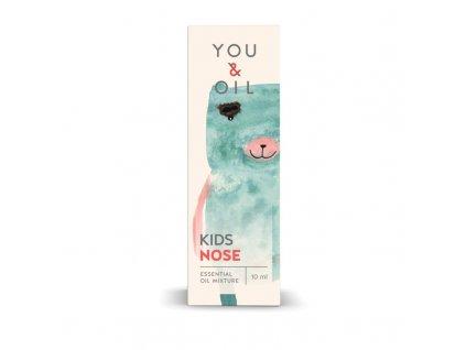 You & Oil KIDS Bioaktivní směs pro děti - Ucpaný nos (10 ml)