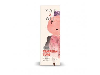 You & Oil KIDS Bioaktivní směs pro děti - Horečka (10 ml)