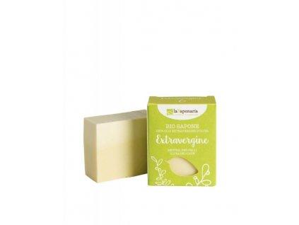 laSaponaria Tuhé olivové mýdlo BIO - Neutrální (100 g)