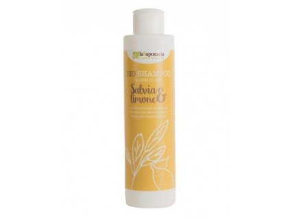 laSaponaria Šampon se šalvějí a citrónem BIO (200 ml)