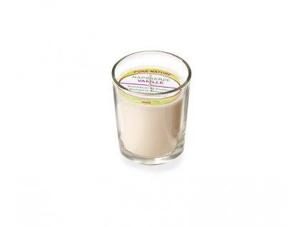 Stuwa Svíčka ve skle přírodní (65 g) - vanilka - s čistě přírodní vůní