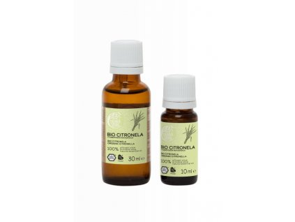 Tierra Verde Silice Citronela BIO (30 ml) - silné repelentní účinky