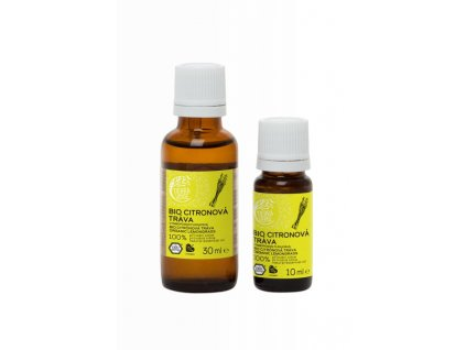 Tierra Verde Silice Citronová tráva BIO (10 ml) - pomůže při vyčerpání