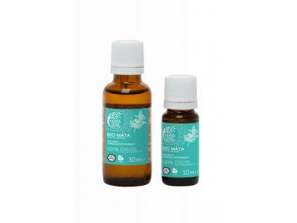 Tierra Verde Silice Máta BIO (30 ml) - podpoří dýchací cesty a soustředění