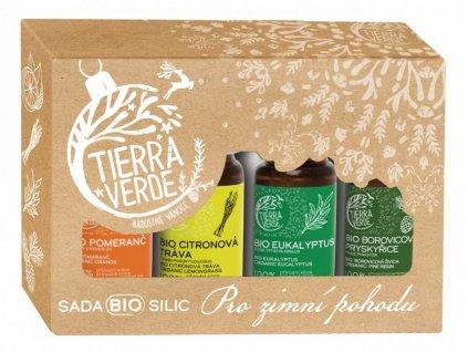 Tierra Verde Sada BIO silic - Pro zimní pohodu (4x10 ml)