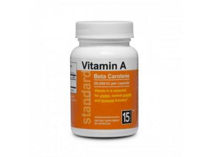 Vitamin A Betakarotén 25 000 IU 60 kapsúl 500x500