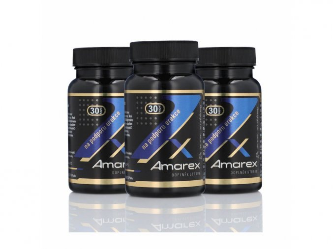 Amarex na podporu erekce 2+1 zdarma