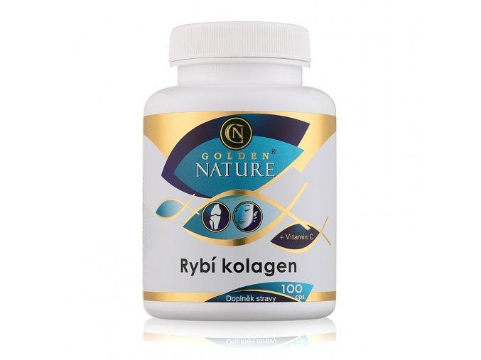 Rybí kolagen a vitamín C Golden Nature