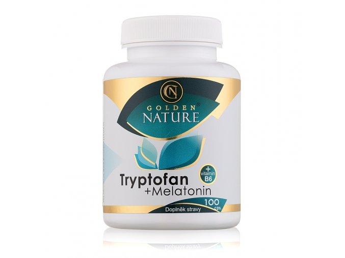 Tryptofan a Melatonin a vitamín B6 Golden Nature