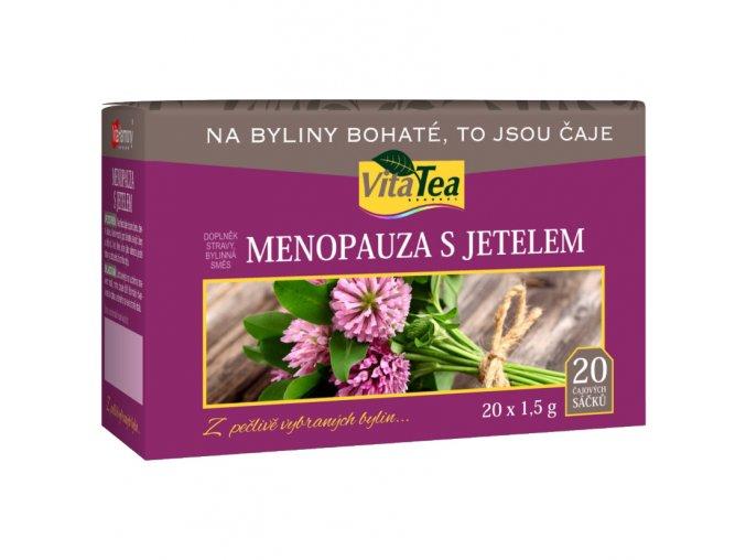 Čaj - Menopauza s jetelem