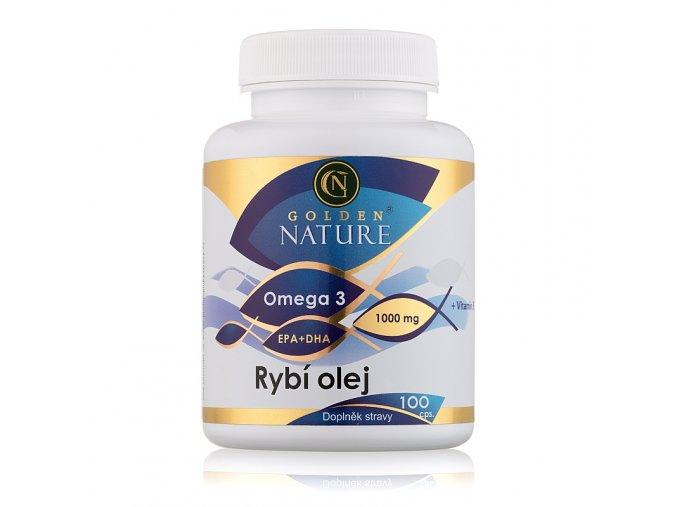 Golden Nature Rybí olej (Omega 3) 100 cps