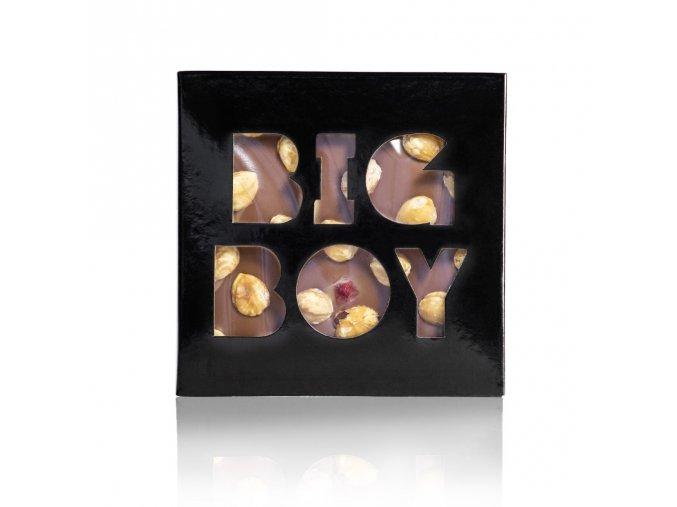 Čokoláda Mléčná s lískovými ořechy