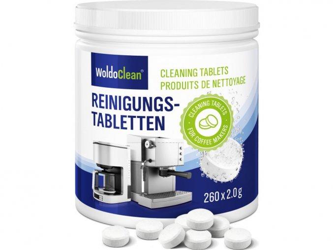 Čistící tablety WoldoClean pro kávovary 260 tablet