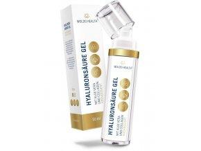 WoldoHealth - Kyselina hyaluronová sérum s vysokým obsahem aloe vera a kolagenu 50 ml
