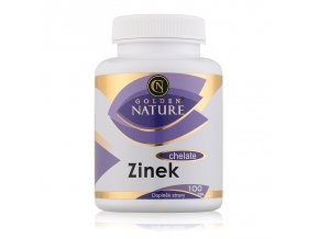 Golden Nature Zinek Chelate, 100 cps.
