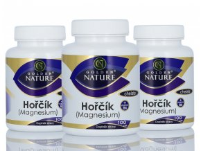 Hořčík (magnesium) chelate + vitamin B6