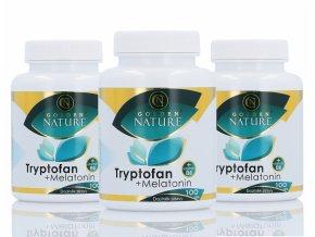 Tryptofan + melatonin + B6