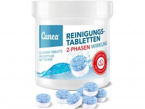 Dvoufázové čistící tablety Cunea pro kávovary