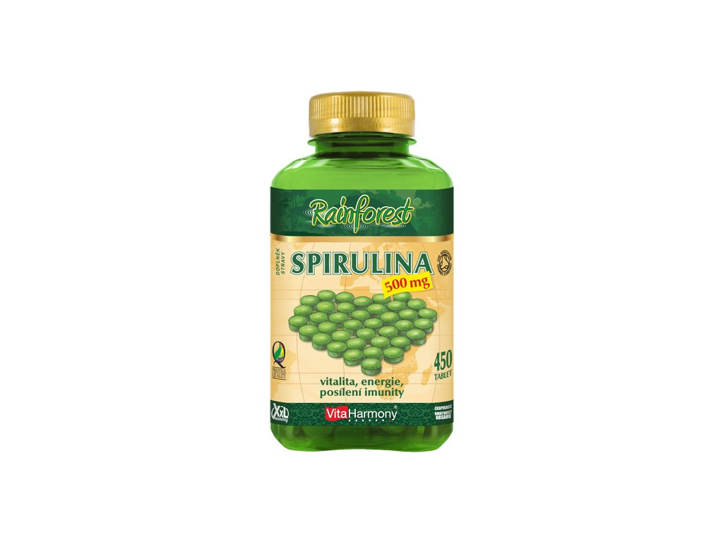 Spirulina 500 mg XXL (450 tbl.)