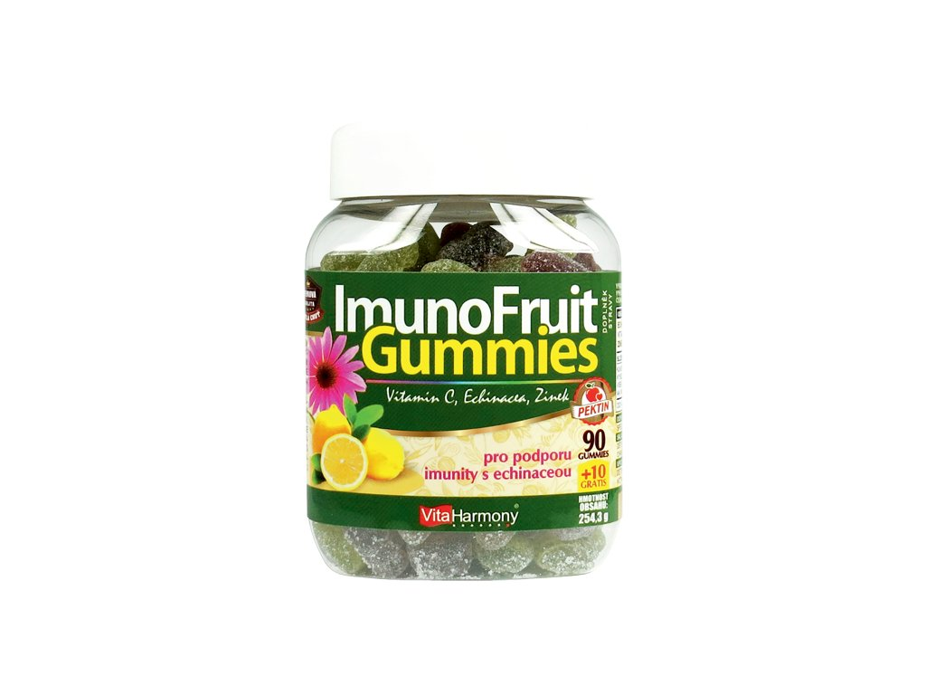 ImunoFruit Gummies (90+10 gummies)