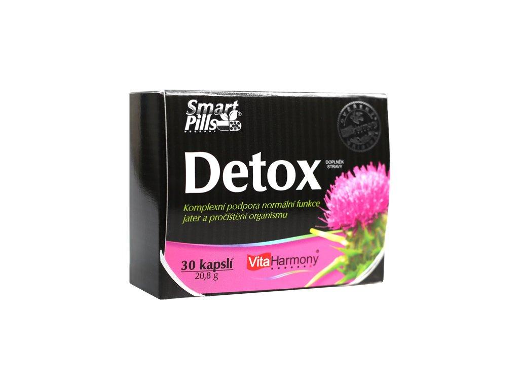 SmartPills® Detox (30 cps.) zleva