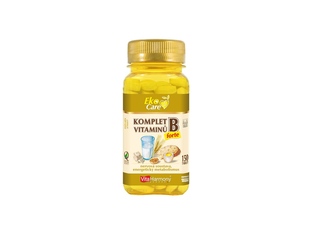VE Komplet vitaminů B forte (150 tbl.)