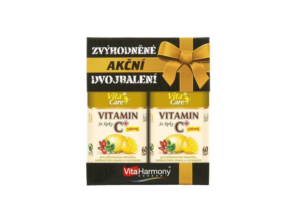 Vitamin C+ akční dvojbalení (60+60 tbl.)