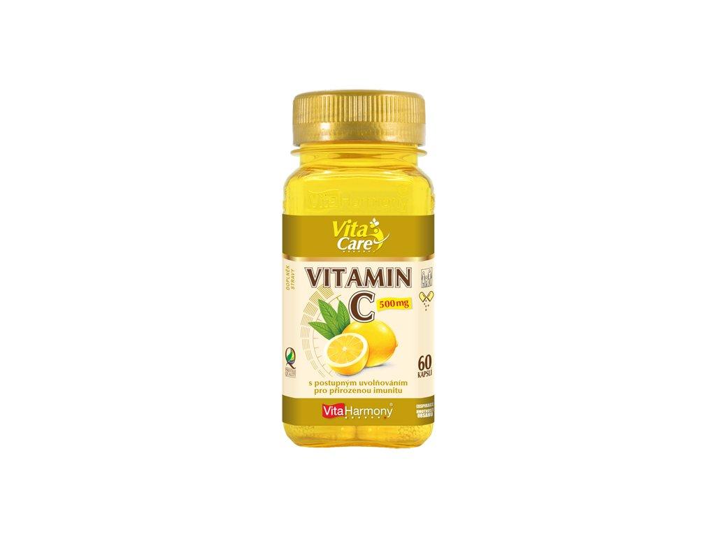 Vitamin C 500 mg TR (60 cps.)