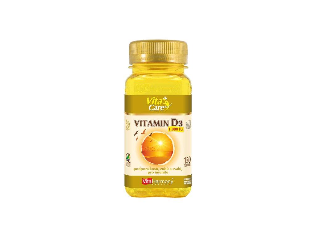 Vitamin D3 1.000 IU (150 tob.)