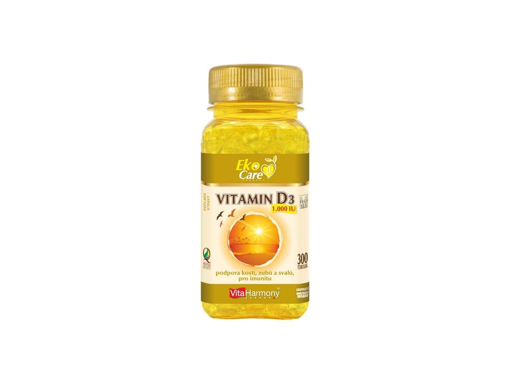 VE Vitamin D3 1.000 IU (300 tob.)