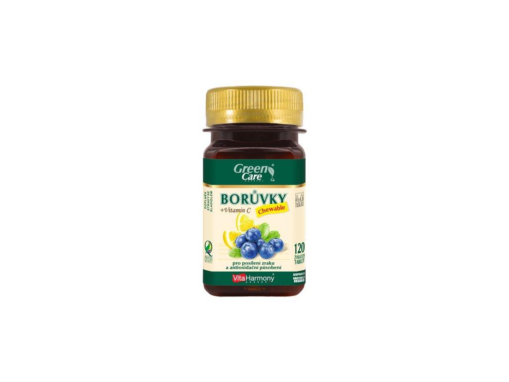 Borůvky chewable (120 žvýk. tbl.)