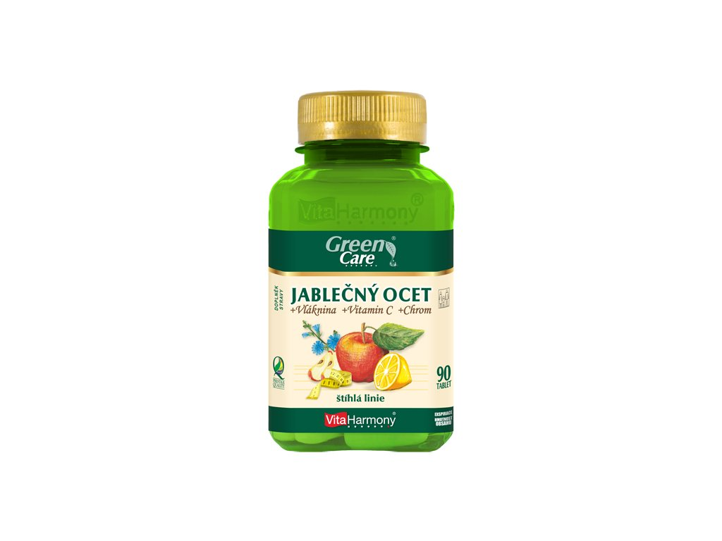 Jablečný ocet & Vláknina & Chrom & Vitamin C (90 tbl.)