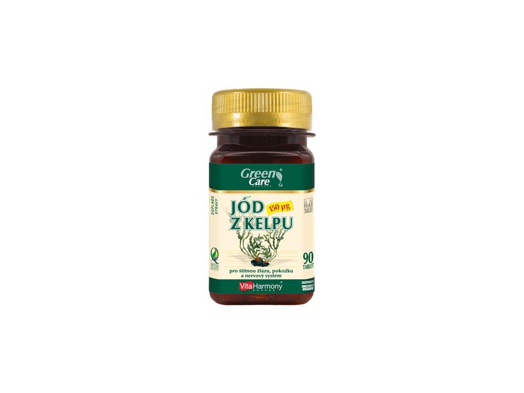 Jód z kelpu 150 µg (90 tbl.)