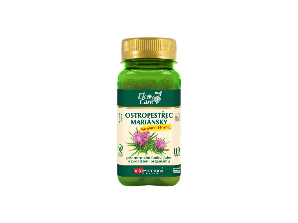 VE Ostropestřec mariánský 140 mg (110 tob.)