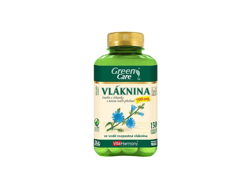 XXL Vláknina - Inulin z Čekanky 700 mg (150 žvýk. tbl.)