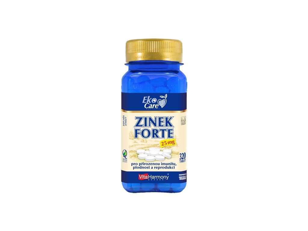 VE Zinek Forte 25 mg (320 tbl.)